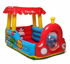 Fisher-Price Train Inflatable Ball Pit Indoor Baby Toddler Play NEW