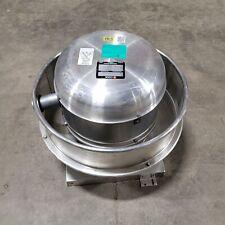 Cook 100 Acru 100r3b Upblast Centrifugal Exhaust Ventilator 115vac 14hp 800cfm