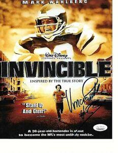 Vince Papale Philadelphia Eagles Autographed 8x10 Movie Photo W-Coa JSA