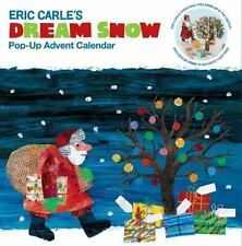 ERIC CARLE DREAM SNOW POP-UP ADVENT CALENDAR - NEW PAPERBACK BOOK