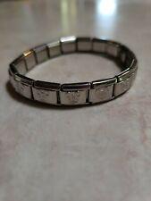 18 Link Mickey Mouse Starter Italian Charm Bracelet  Stainless Steel New