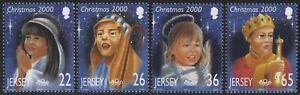 Jersey 2000 - Mi-Nr. 957-960 ** - MNH - Weihnachten / X-mas