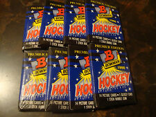 1990-91 Bowman Hockey---Packs---Lot Of 8---14 Cards/Pack