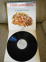 "EL MUNDO ANTIGUO SPARTACUS SOUNDTRACK LP VINYL 12"" 1987 VG+/VG+ SPANISH EDIT"