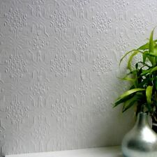 Embossed Paintable Wallpaper Luxury Textured Vinyl Berkeley Easy Apply Anaglypta