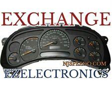 CHEVY GMC TRUCK INSTRUMENT CLUSTER  EXCHANGE Remanufactured 15114650 7 gauges
