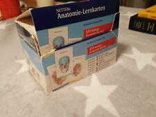 Netter's Anatomie Lernkarten von Frank Netter Netters Prüfung Karten zum Atlas