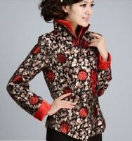 Chinese Tang suit women's  coat silk embroidery jacket size:M-4XL