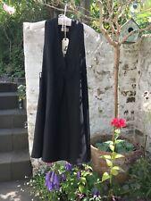 Maison Scotch Black Dress BNWT 'Brigitte' Sleeveless, High Waist, Butterfly Back
