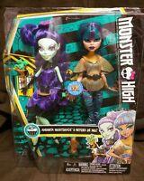 Monster High Scream & Sugar Nefera de Nile and Amanita Nightshade 2 Pack Dolls