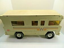 Vintage Rare Tonka Winnebago Brown Motorhome RV Camper Toy Truck