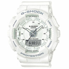 Casio Men's G-Shock S-Series White Tracker Watch GMAS130-7A