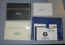 Original & Near Perfect 1982 Jaguar XJ6 Series III Glove Box Manuals