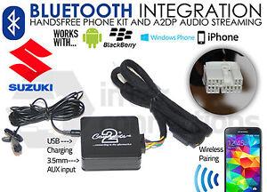 Suzuki Grand Vitara Bluetooth Llamadas Streaming Manos Libres Música CTASZBT001
