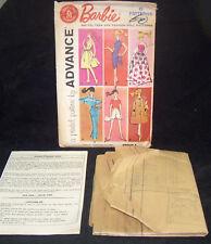 Motivo Barbie Non Tagliate Completo Cartamodello Advance Group a Moda  Bambola 616b78556d6
