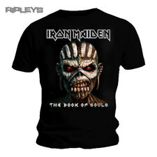 Iron Maiden Men's The Book of Souls T-shirt Small Black