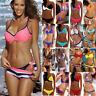 Women Bandage Push Up Padded Bra Bikini Set Swimsuit Swimwear Bathing Brazilian