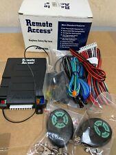 8 avital 5003 remote access keyless entery system brand new