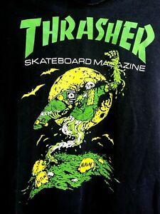 Thrasher Green Graveyard Vintage T-Shirt