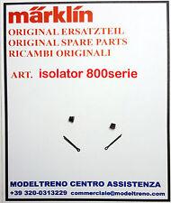 MARKLIN ISOLATORE TETTO + SPLINT (2 pz.) - ISOLATOR MIT SPLINT (2 St.) SERIE 800