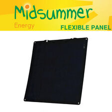 50W 12V Semi-flexible Solar PV Panel with high-efficiency cells - boat, caravans