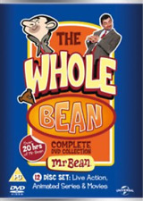 Mr Bean The Whole Bean Complete Collection 12xdiscs Region 2 DVD (12 Discs)