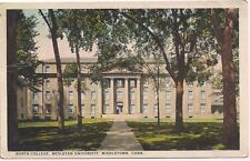 "Postcard ""North College, Wesleyan University Middletown, Conn Postmarked 1932"