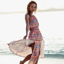 BNWOT BILLABONG LADIES SUMMER 2018 TECHNI FOLK MAXI DRESS (8) RRP $100 ONE ONLY