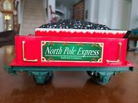 Eztec G-Scale Christmas North Pole Express Train Railroad Coal Tender
