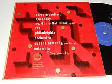 PROKOFIEV Ormandy VG+ Alex Steinweiss Art Philadelphia Orch. Columbia ML 4328