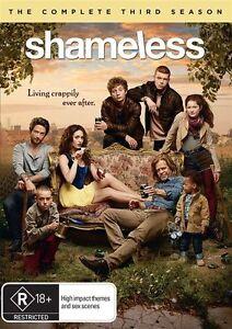 SHAMELESS Season 3 DVD SET - Complete Series Three Third - AUSTRALIAN REGION 4