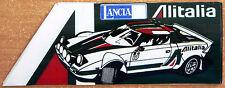 ALITALIA LANCIA STRATOS RALLY / Motorsport Adesivo Decalcomania