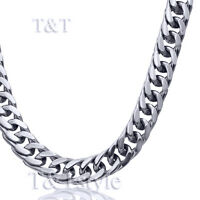 QUALITY SOLID T&T Stainless Steel CHAIN SILVER NEW