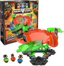 Nanoverse Ultimate battle arena spinning race track cars truck boys toys launch