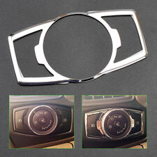 Headlight Lamp Switch Controller Knob Trim Cover Sticker for Ford Focus 2012-14