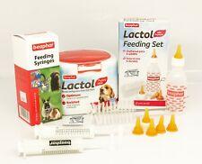 Lactol Puppy Milk 250 with Feeding Bottle , Syringe & Teats Beaphar Whelping Kit