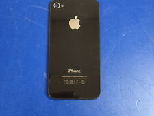 Apple Verizon iPhone 4S Back Rear Cover Glass Black