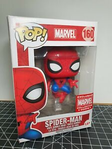 Funko POP! Vinyl figure - Marvel #160 Spider-Man EXCLUSIVE Collector Corps