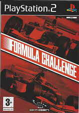 FORMULA CHALLENGE for Playstation 2 PS2 - with box & manual - PAL