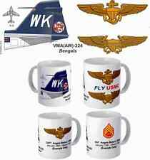 """VMA(AW)-224 """"Bengals"""" A-6 Intruder Mug with FREE personalization"""