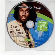 (GO232) Anthoney Wright, Feet On The Ground - 2008 DJ CD