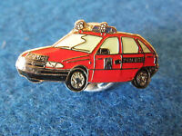 Enamel Badge - Red Police Car - Facing Left - Diplomatic Protection Group?