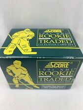 1991 Score Rookie & Traded Sealed Complete 110-Card Hockey Set NEW SEALED