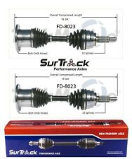 For Ford F-150 Lincoln Navigator 4WD Pair Front CV Axle Shafts SurTrack Set