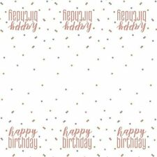 *NEW ROSE GOLD GLITZ* Age 21 - Happy 21st Birthday - Party Supplies Decorations