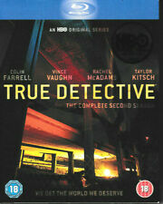True Detective - The Complete Second Season - Blu Ray - Brand New & Sealed