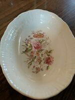 Vintage Coronet 9 1/4 Serving Bowl With Roses