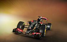 Framed Print - 2015 LOTUS E23 F1 (Picture Super Car Classic Car Aston Martin)