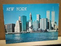 NEW YORK CITY financial district ALFRED MAINZER printed Italy .19 deer stamp '93