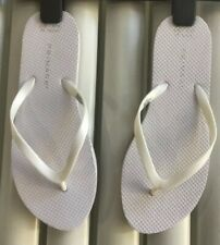 Atmosphere LadiesWhite Flip Flops Size 3/4